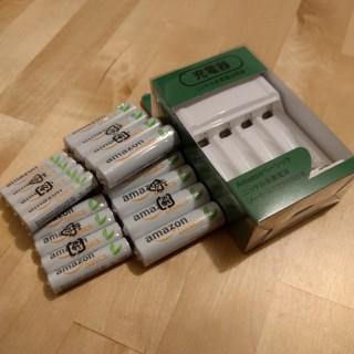 amazonベーシックの充電器を大人買い