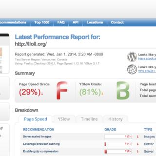 サイトの表示速度改善(GTmetrixとPageSpeed Insightsでモニタリング)