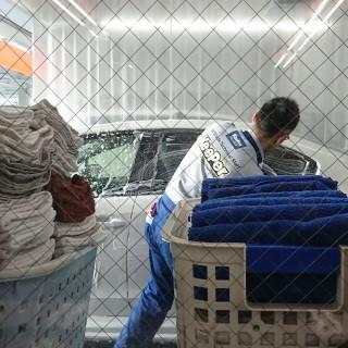 車内クリーニングのグリーンタオルのGrooming!を試した
