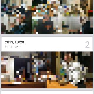 機種変更した際のLINEアルバムの内容