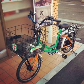 [画像]セブンイレブンの自転車
